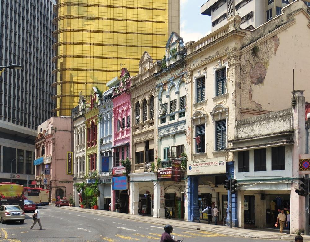 Straße in Kuala Lumpur