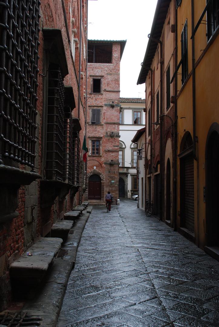 Straße in Lucca