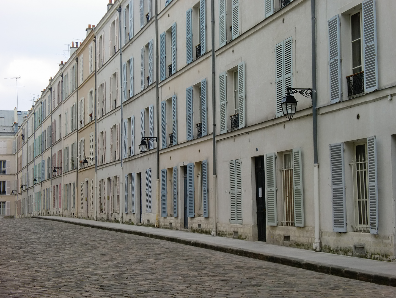 Straße in Montparnasse