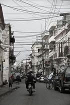 Strasse in Santo Domingo