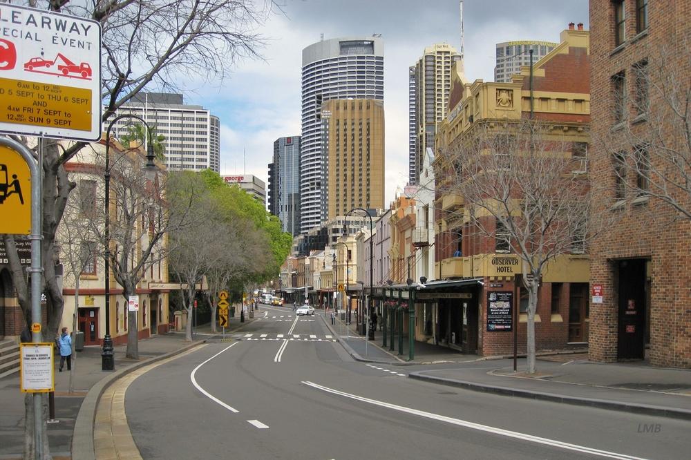 Straße in Sydney
