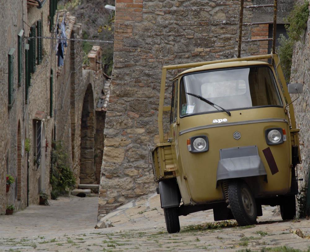 Straße in Volterra