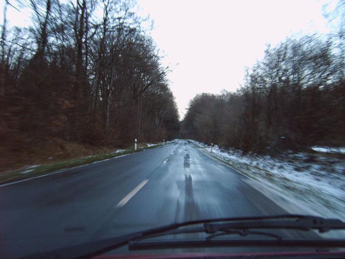 Straße nach Hause