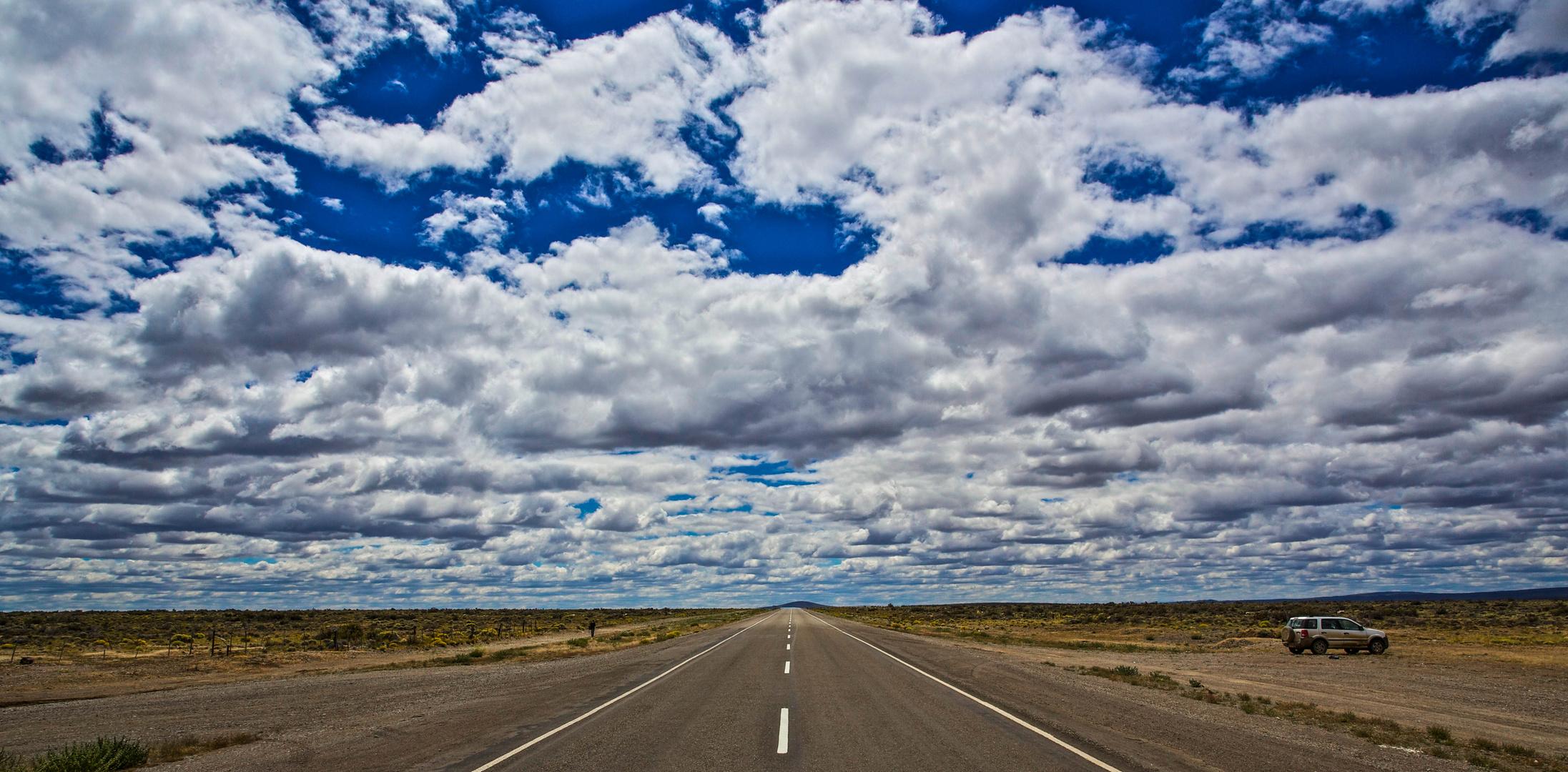 Straße nach Ushuaia