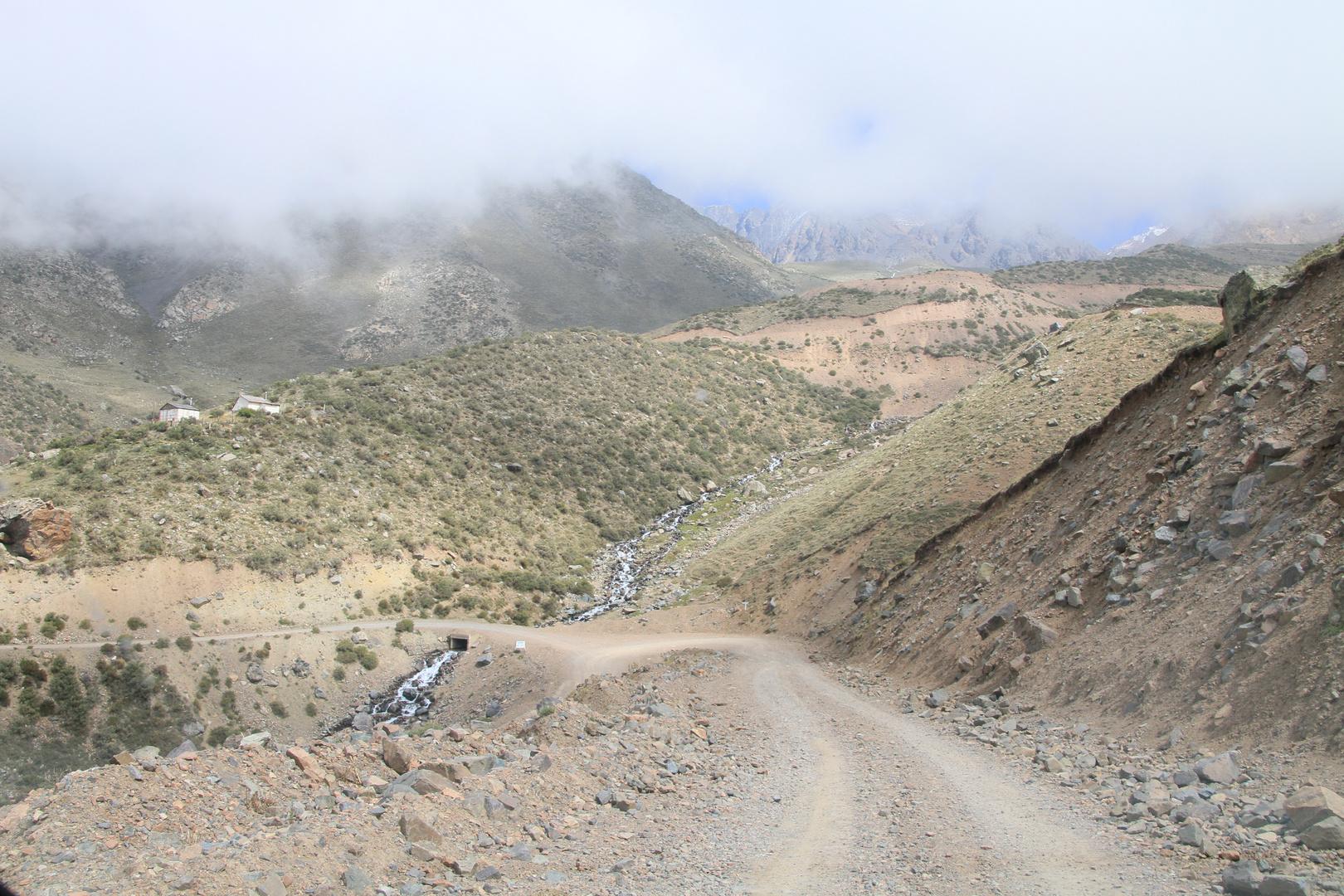 Straße nach Vallecitos (Provinz Mendoza)