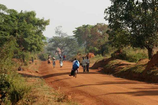 Strasse Uganda