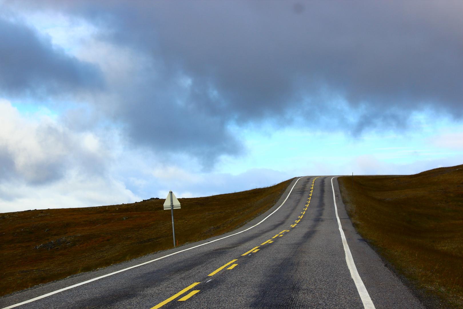 Straße zum Nordkap (Norwegen)