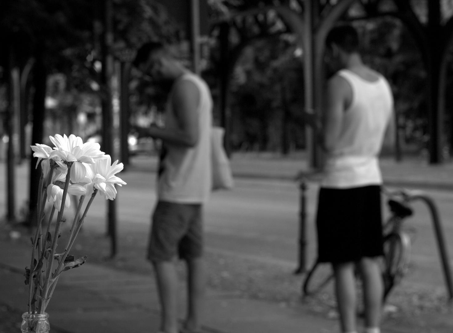 Straßen Blumen