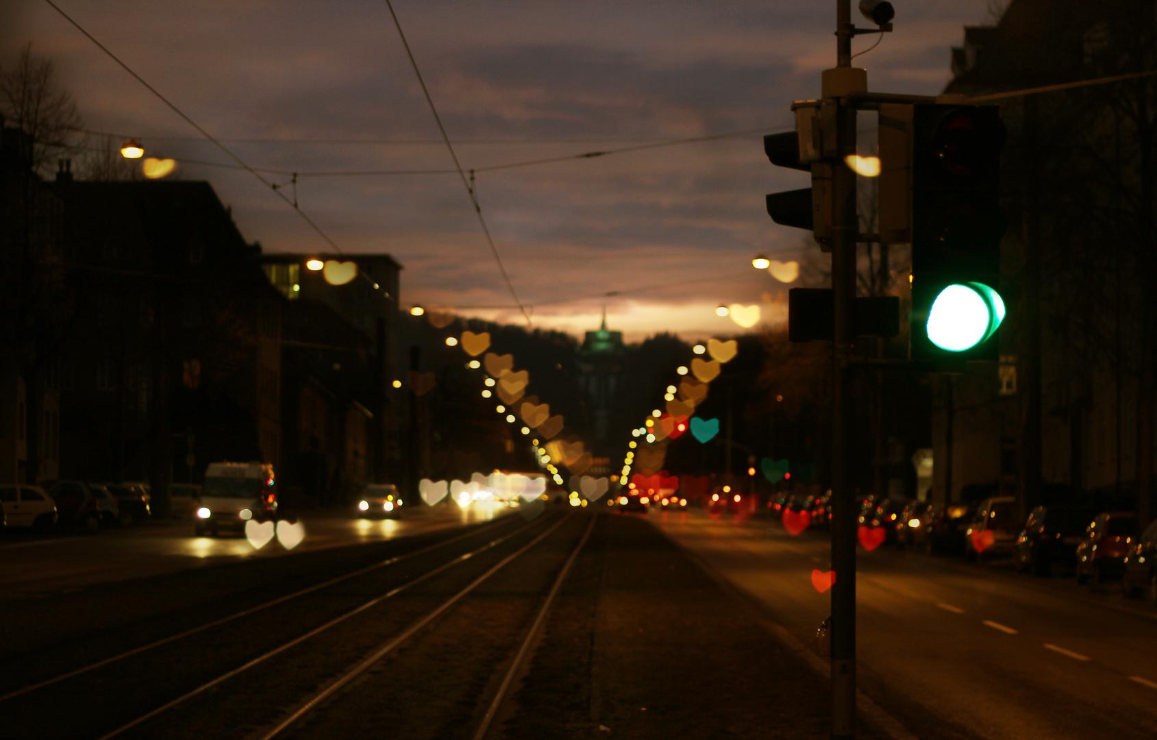 Straßen Liebe