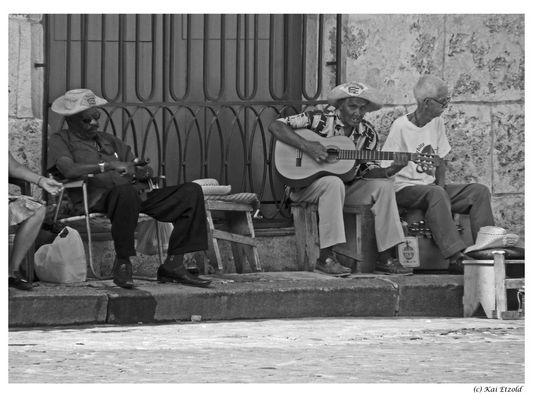 Strassen Musik in Havanna