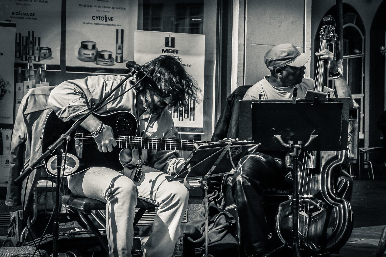 Strassen Musiker