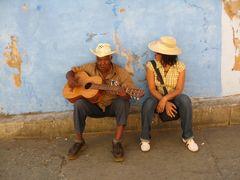 Strassen-Musiker in Santiago de Cuba