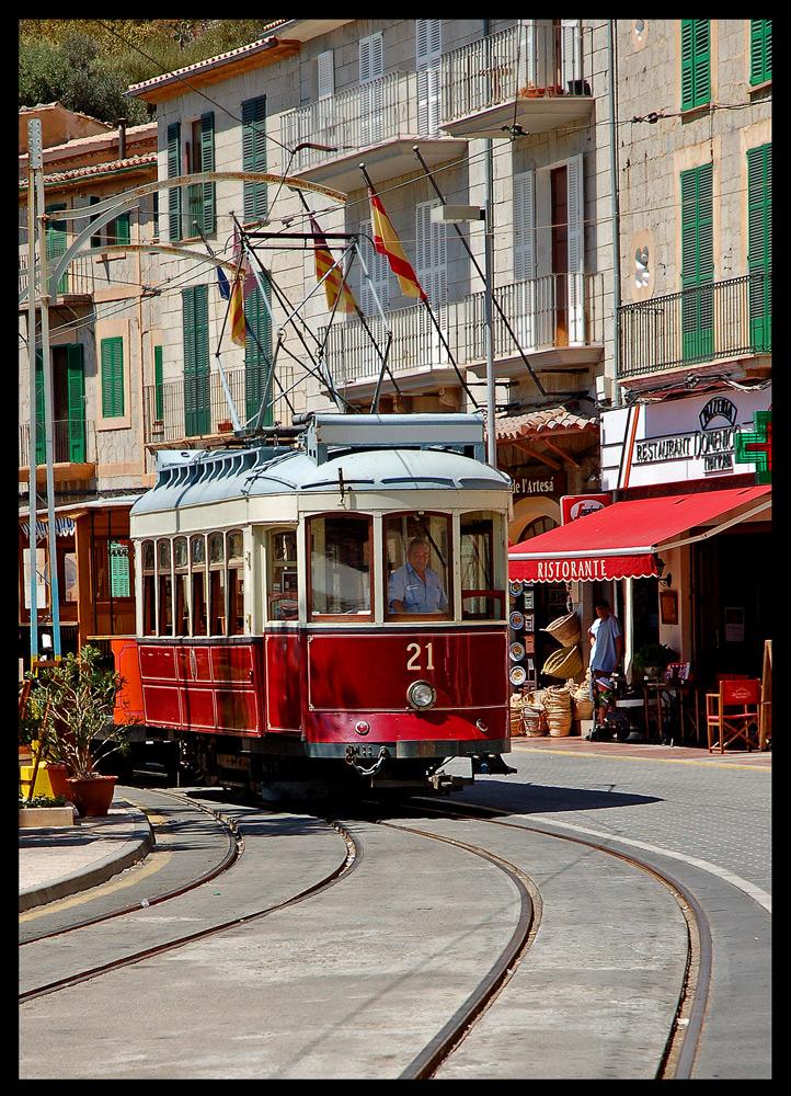 Straßenbahn auf Mallorca