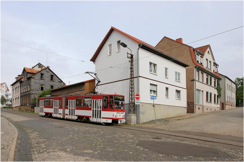 Straßenbahn Gotha [47] - Invasion der Tatras am Nelkenberg