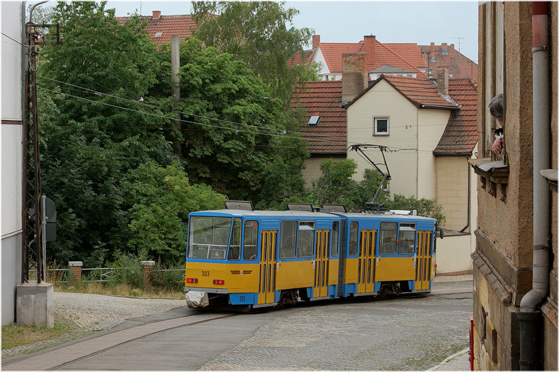 Straßenbahn Gotha [48] - Nelkenbergblick