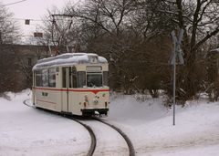 Straßenbahn Gotha / Thüringerwaldbahn, Januar 2005