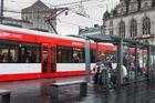 Straßenbahn - Halle (Saale) am Markt