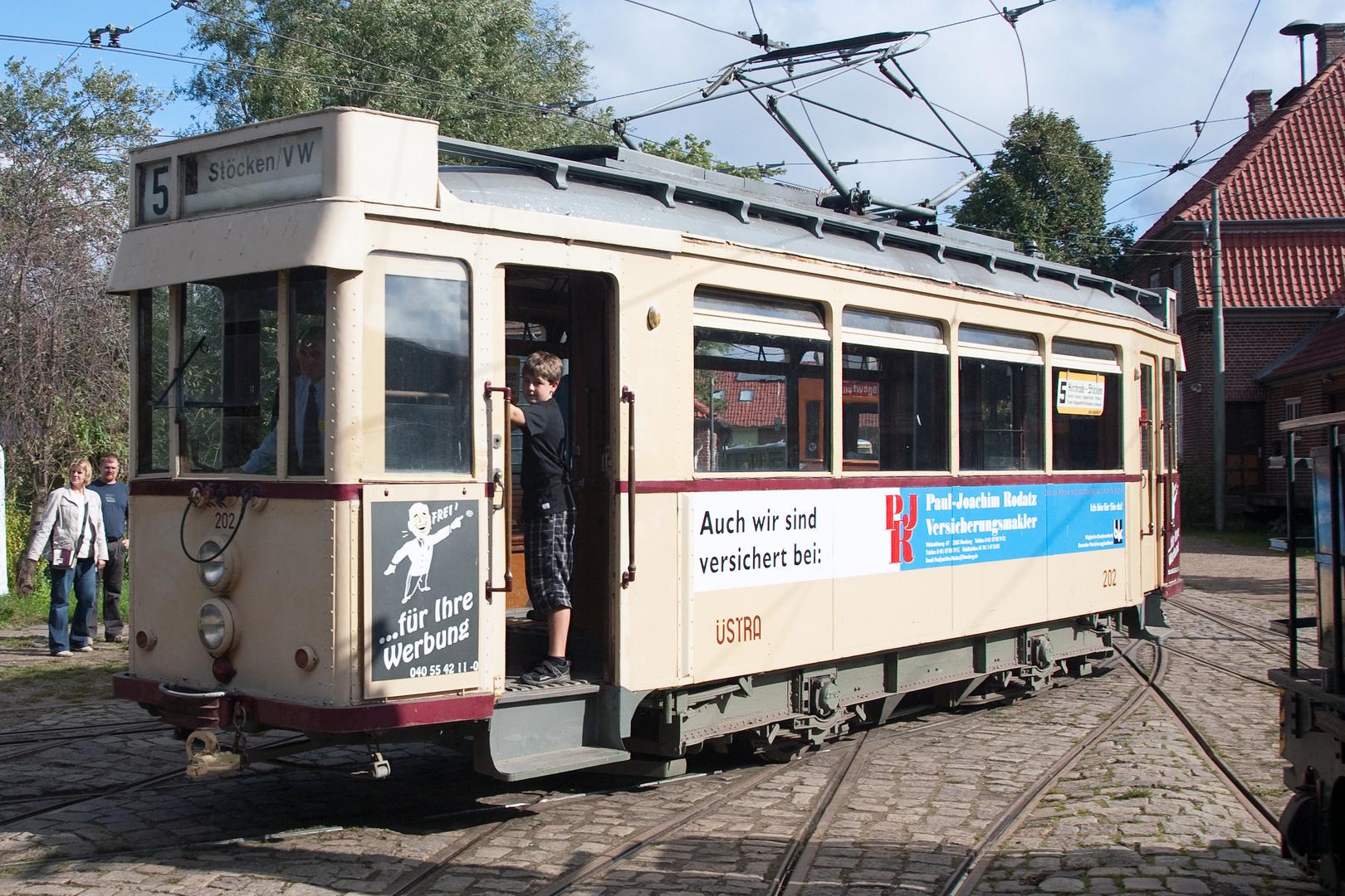 Straßenbahn im Betrieb (1)