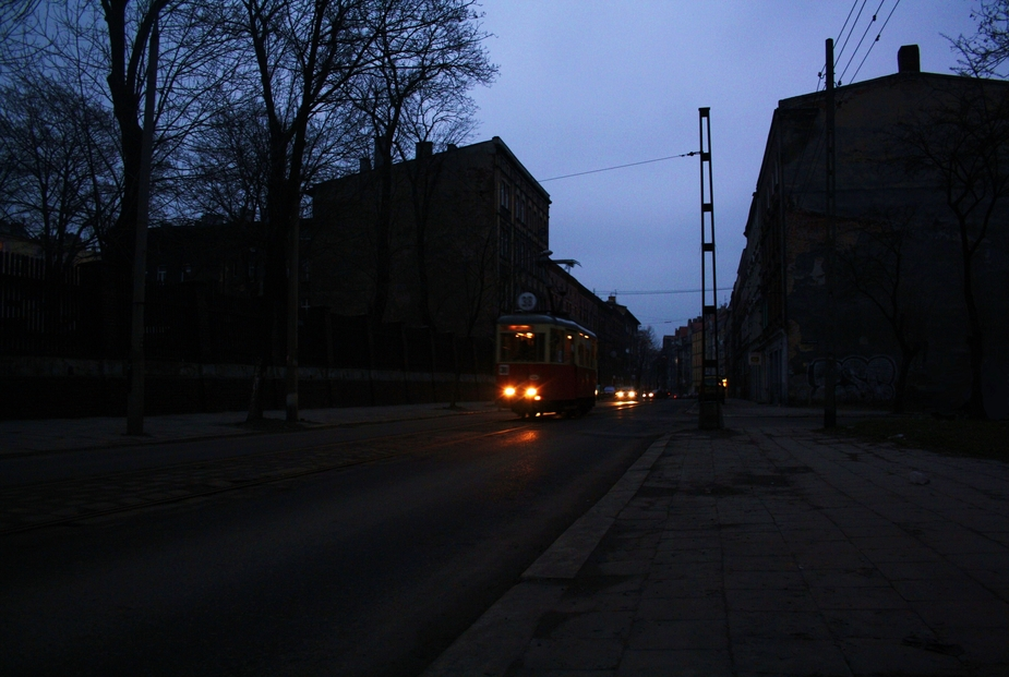 Straßenbahn in Beuthen (Oberschlesien ) .