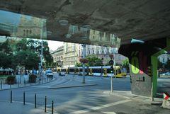 Strassenbahn in Budapest