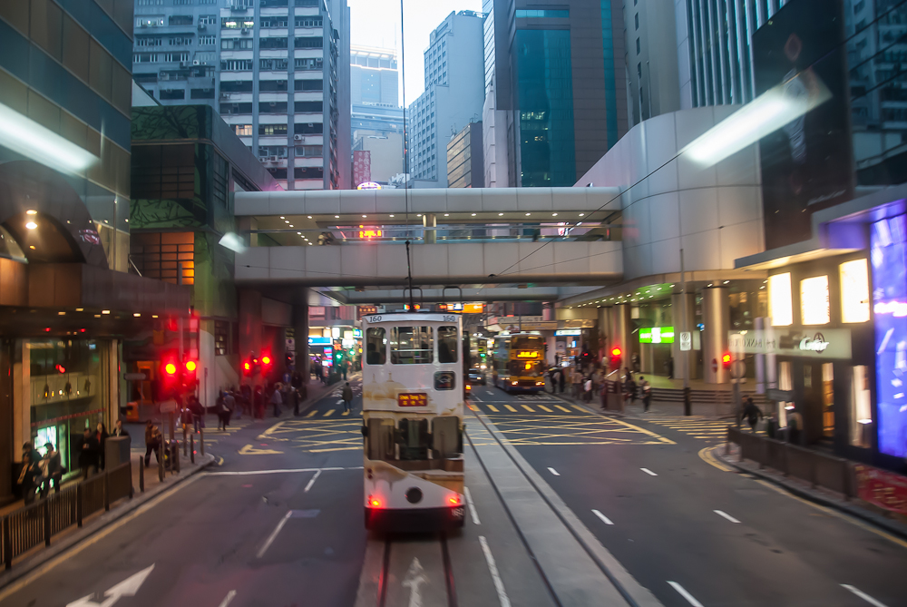 Strassenbahn in HK
