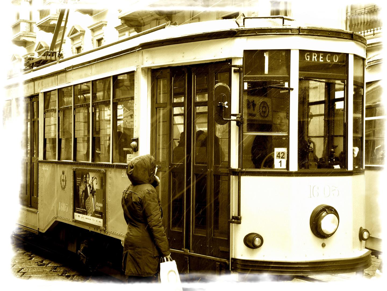 Straßenbahn in Milano