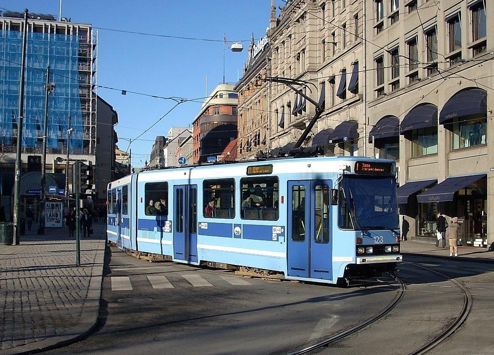 Straßenbahn in Oslo (2)