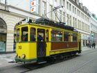 Straßenbahn Kassel mit Triebwagen 110