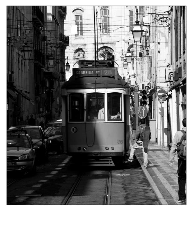 Strassenbahn Lissabon