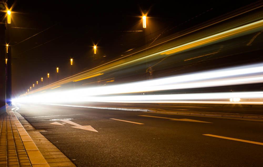Straßenbahn on the Road