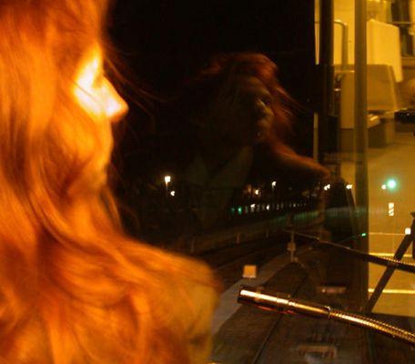 Straßenbahnfahrerin