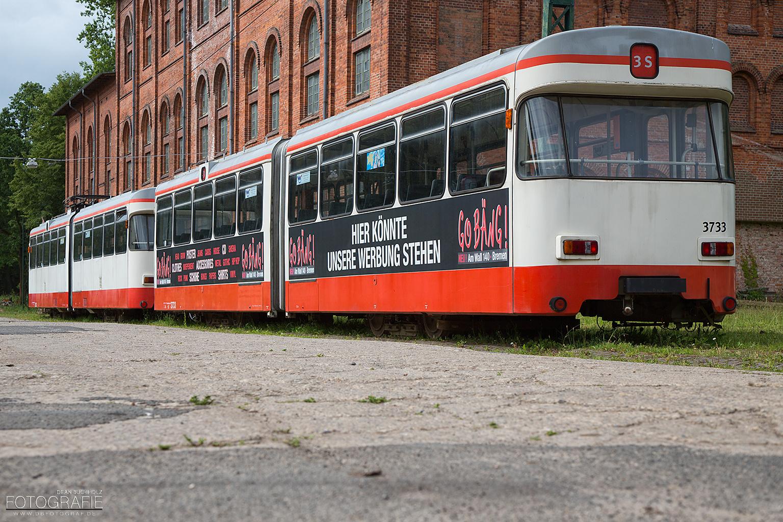 Straßenbahnwagen 3733