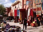 Strassenbasar in Marrakesch