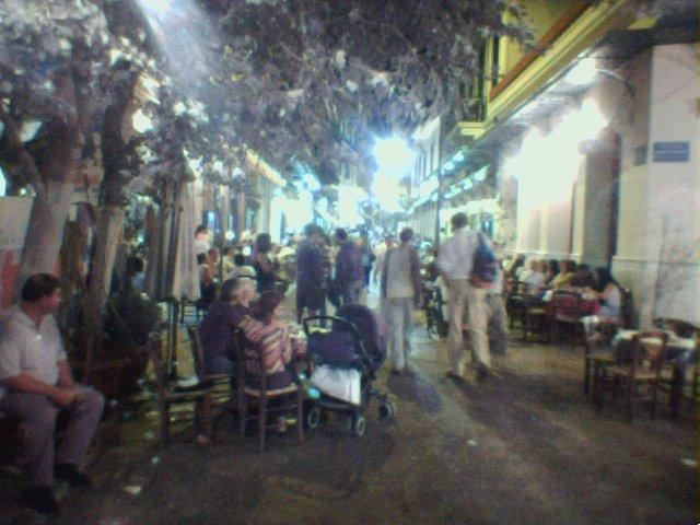 Straßenbild Athen
