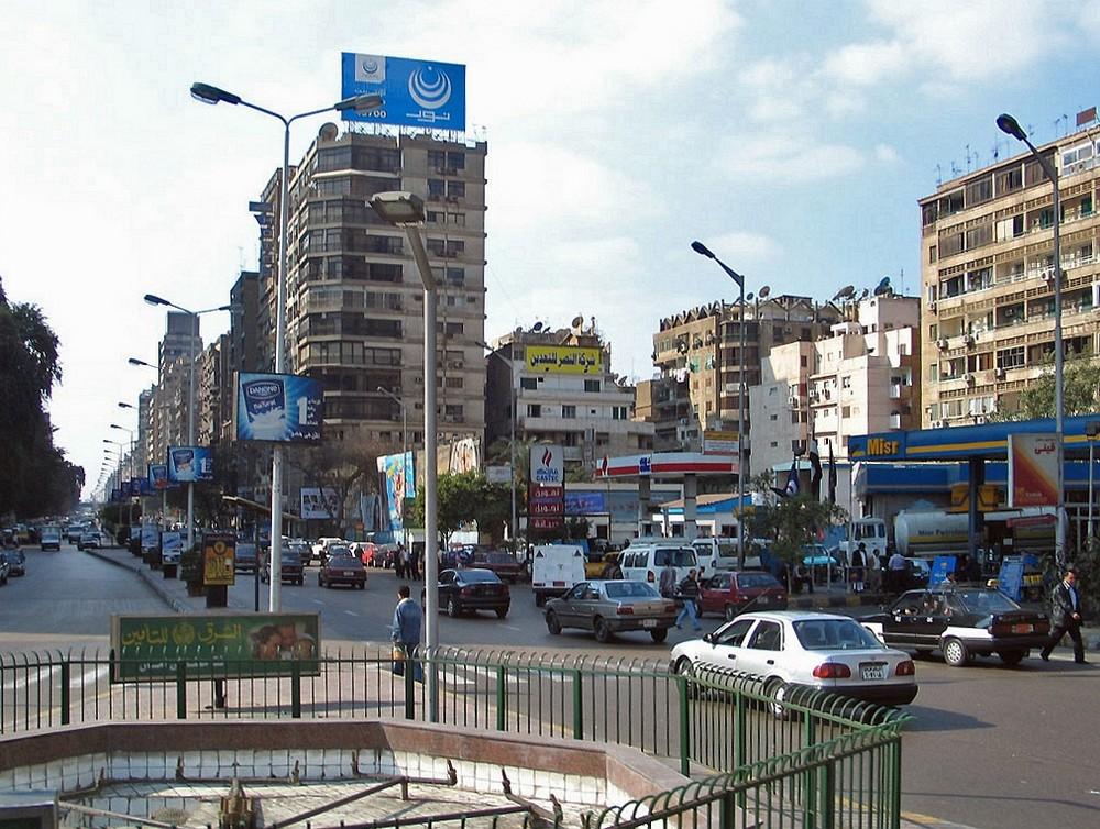 Strassenbild Kairo