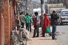 ... Straßenbild - Kathmandu ...