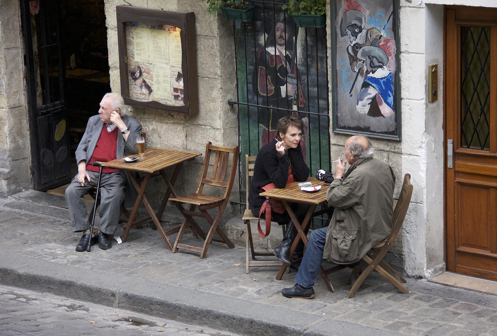 Straßencafé am Montparnasse