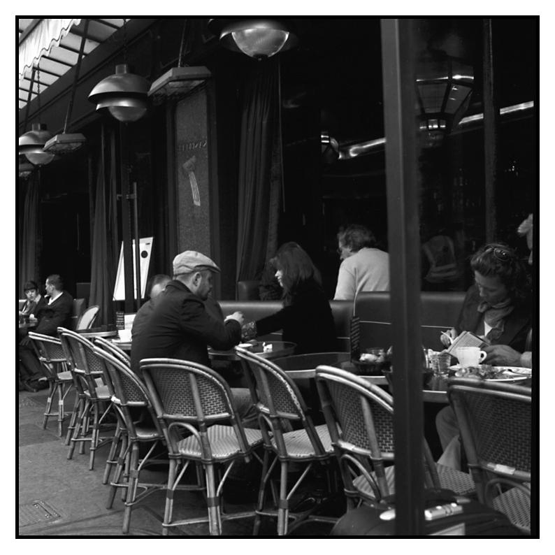 Straßencafe I