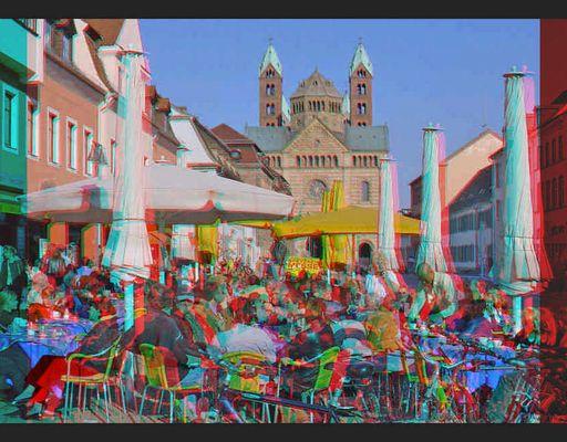 Strassencafe in Speyer - Weiteres Reload-
