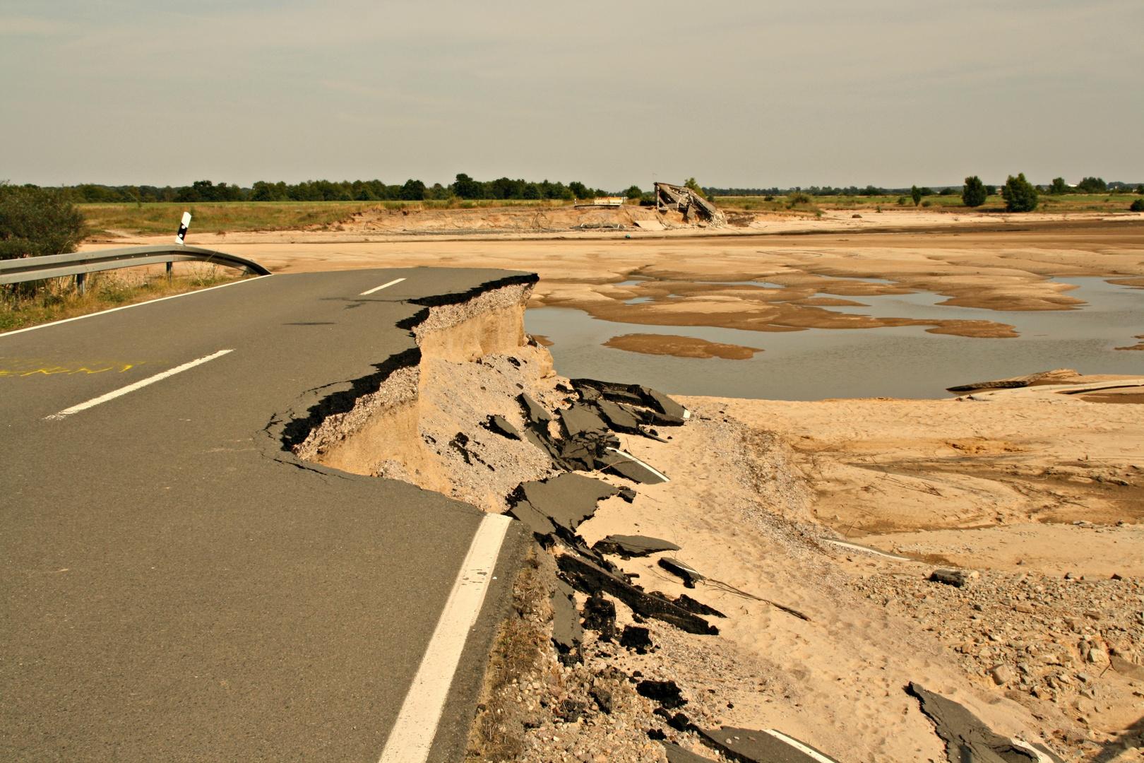 Straßendurchbruch