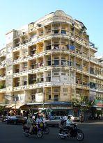Straßenecke in Phnom Penh