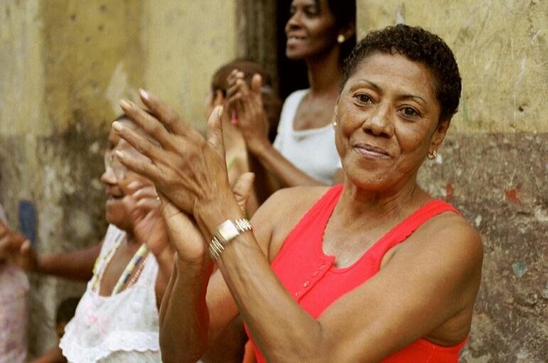 Strassenevent in Havanna