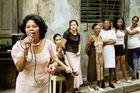 Straßenevent in Havanna, Cuba
