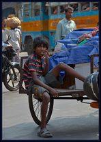 Straßenjunge in Kolkata
