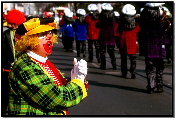 Strassenkarneval - Veedelszooch in Düsseldorf