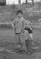 Strassenkinder im Kosovo