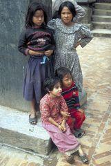 Strassenkinder in Kathmandu