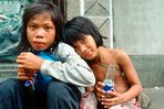 Strassenkinder in Saigon - Vietnam