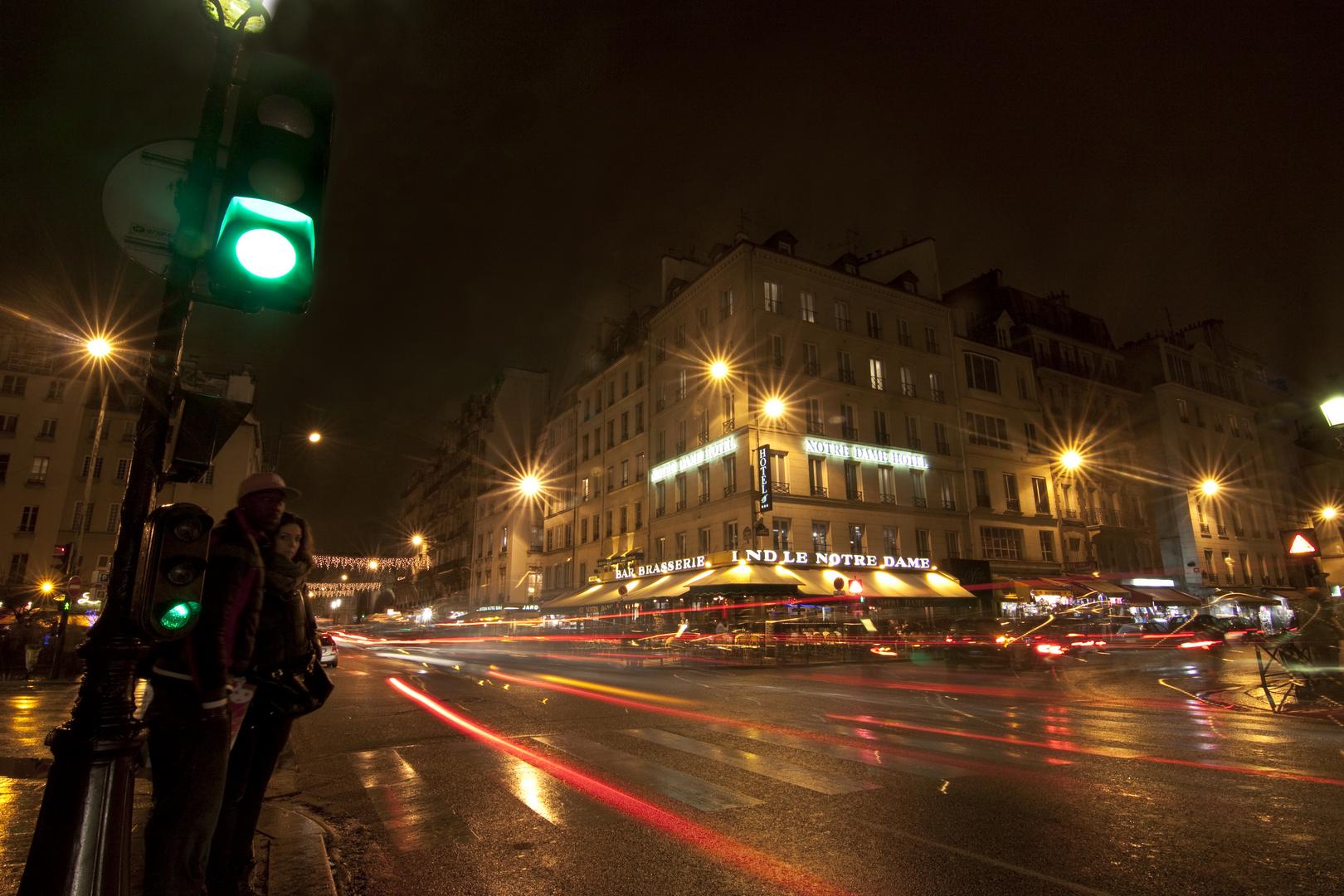 Straßenkreuzung St. Michel