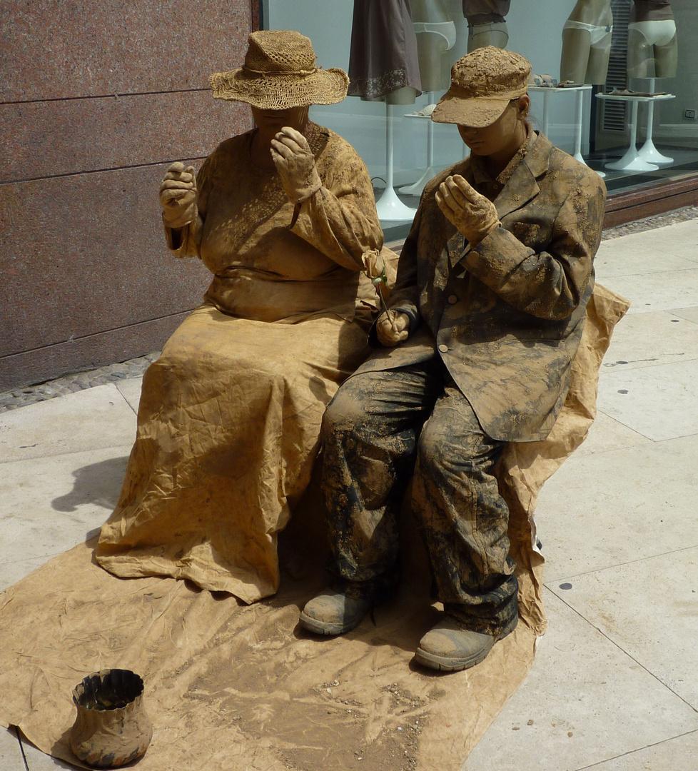 Straßenkünstler in Verona 2